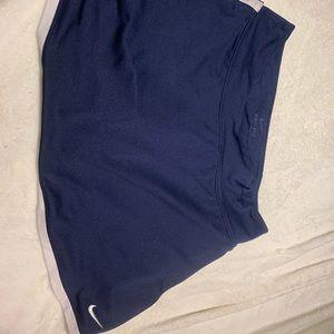 Nike border skirt Navy size Large